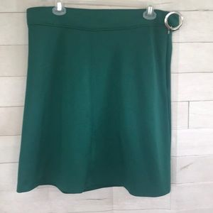 EUC Eloquii emerald Green Aline Skirt 18